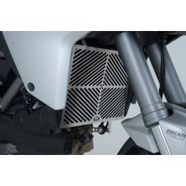 Grille de radiateur Ducati inox R&G Racing