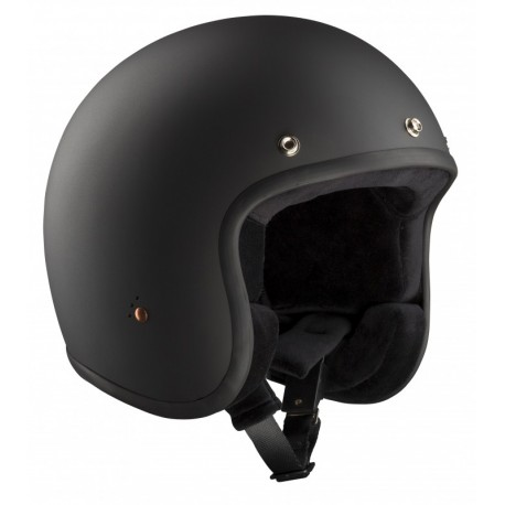 Casque Bandit Helmets Jet noir mat ECE homologué
