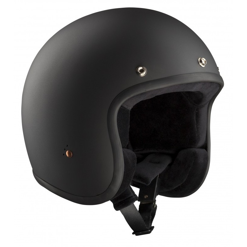 casques bandit helmets jet noir mat ece de bandit helmets xaissbike. Black Bedroom Furniture Sets. Home Design Ideas