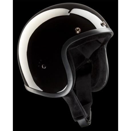 Casque Bandit Helmets Jet noir brillant