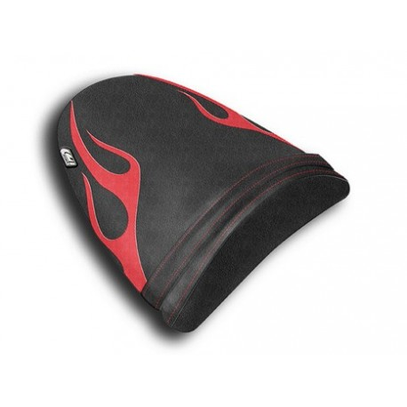 Housse passager ZX6R 03-04 Flame Cuir 2