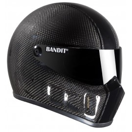 Casque Bandit Helmets Super Street 2 carbone Race