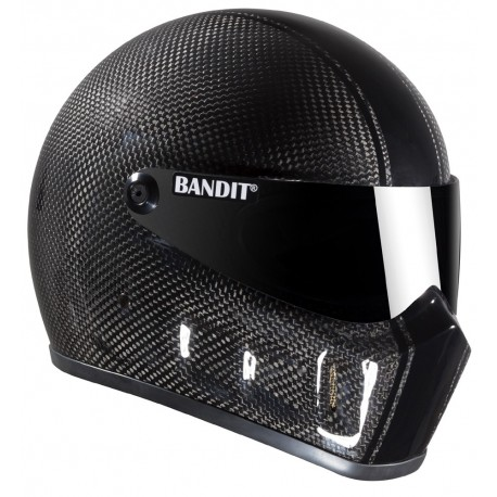 Casque Bandit Helmets Super Street 2 carbone Race