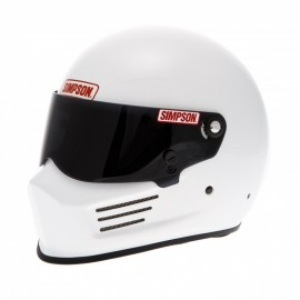 Casque Simpson Bandit blanc brillant