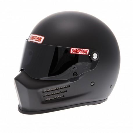 Casque Simpson Bandit noir mat profil