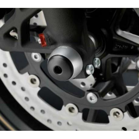 Tampons de protection de fourche Rizoma MVAgusta montés