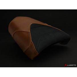 Housse passager RNine T Vintage cuir/suede