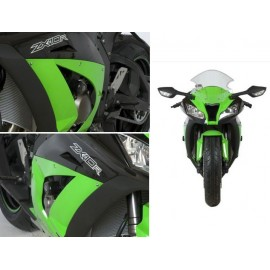 Tampons de protection Kawasaki Race R&G Racing