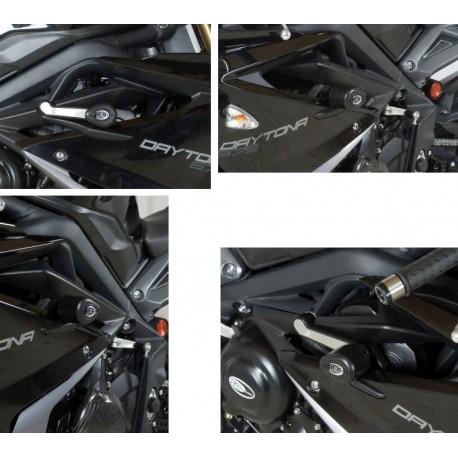 Tampons de protection Triumph Race R&G Racing Daytona 675