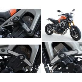 Tampons de protection Yamaha avec platines R&G Racing MT09