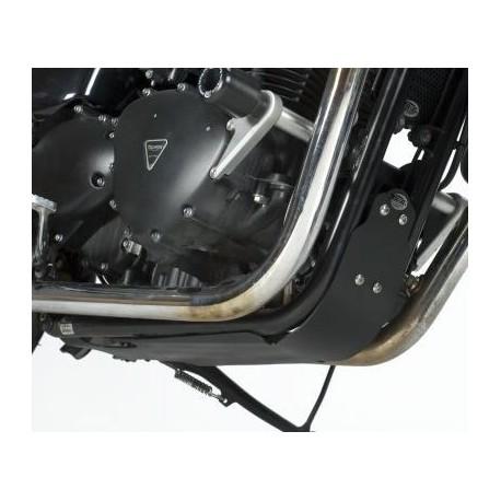 Semelle de protection Triumph R&G Racing Thruxton Bonneville et Scrambler 2006 à 2015