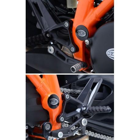 Kit inserts de cadre KTM R&G Racing