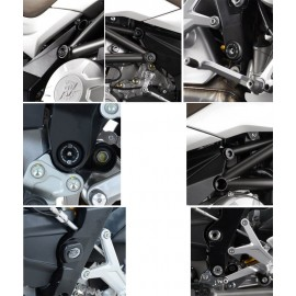 Kit inserts de cadre MV Agusta R&G Racing