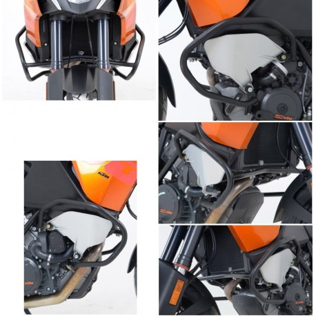 Protections latérales R&G Racing KTM