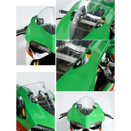 Obturateurs de rétroviseurs R&G Racing Ducati