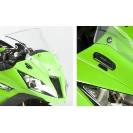 Obturateurs de rétroviseurs Kawasaki R&G Racing