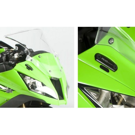 Obturateurs de rétroviseurs R&G Racing Kawasaki