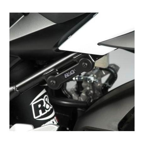 Obturateurs de reposes pieds arrière Suzuki R&G Racing