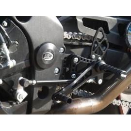 Commandes reculées Suzuki R&G Racing