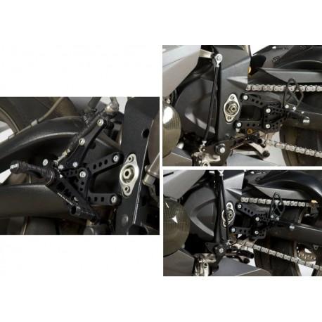 Commandes reculées Triumph R&G Racing Daytona 675