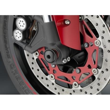 """Protections d'axe de roue avant Rizoma """"Sport R"""" Yamaha R1"""
