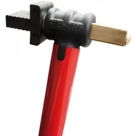 Supports caoutchoucs freins radiaux seuls pour béquille avant