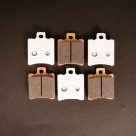 Plaquettes de frein Beringer 2547S 6 pistons