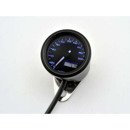 Compteur Daytona Velona 48mm 200 kmh éclairage bleu