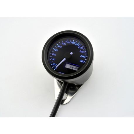 Compteur Daytona Velona 48mm 260 kmh éclairage bleu