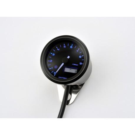 Compte tours Daytona Velona 48mm 9000 tr/min éclairage bleu