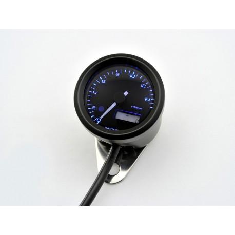 Compte tours Daytona Velona 48mm 15000 tr/min éclairage bleu