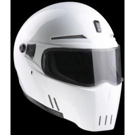 Casques Bandit Helmets Alien 2 blanc brillant