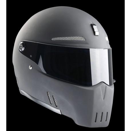 Casques Bandit Helmets Alien 2 noir mat