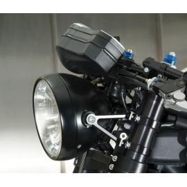 Optique rond café racer 190mm