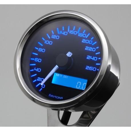Compteurs Daytona velona speed inox