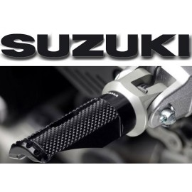 Adaptateurs pilote Suzuki pour reposes pieds Rizoma