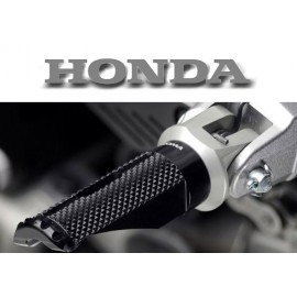 Adaptateurs pilote Honda pour reposes pieds Rizoma