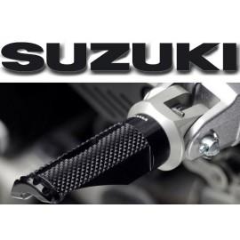 Adaptateurs passager Suzuki pour reposes pieds Rizoma