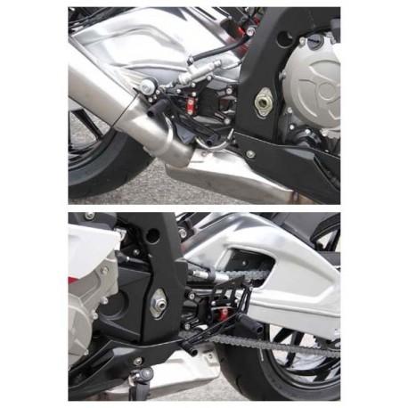 Commandes reculées BMW LSL multi-positions S1000RR