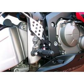 Commandes reculées Honda LSL multi-positions CBR600RR 2003-2006