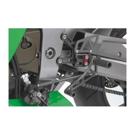 Commandes reculées Kawasaki LSL multi-positions ZX6R 2003-2004