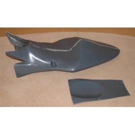 Coque arrière monoplace assise fermée ZX10R 04-05