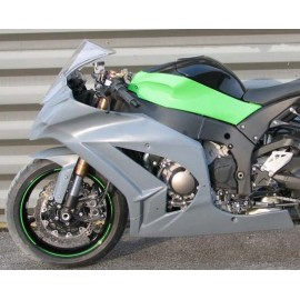 Carénage en 2 parties ZX10R 11-15