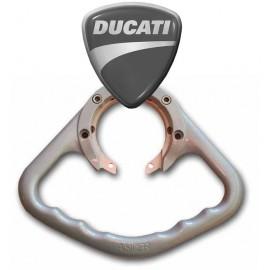 Poignée passager Ducati aluminium
