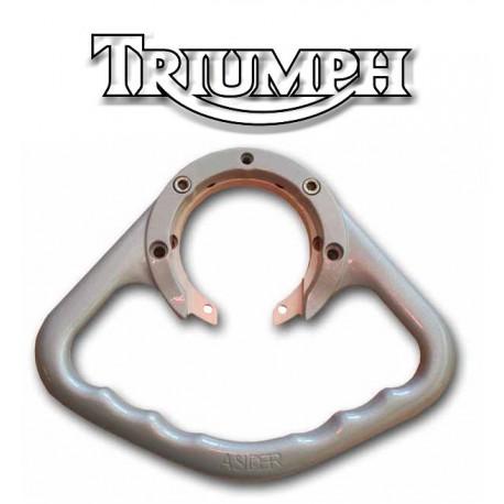 Poignées passager Triumph aluminium