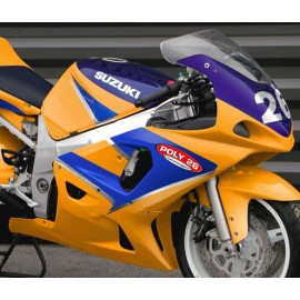 Carénage en 2 parties GSXR 600 / 750 2000-03