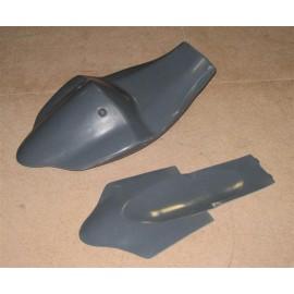 Coque arrière monoplace réhaussée GSXR 1000 05-06
