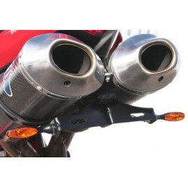 Supports de plaque Ducati R & G Racing