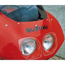 Tête de fourche seule double optiques GSXR 1100 91-92