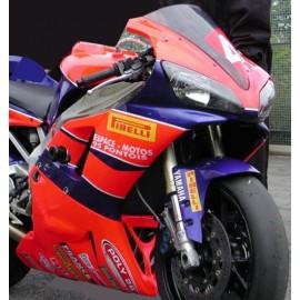 Carénage en 2 parties Yamaha R1 00-01